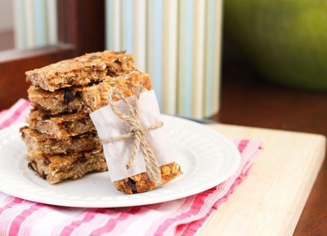 Chewy Trail Mix Bars - Vegan, Gluten Free, Sugar Free