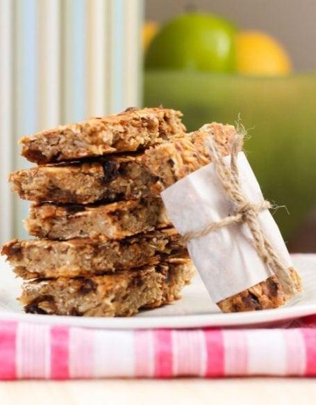 Vegan Gluten-Free Trail Mix Bars - Eat Spin Run Repeat