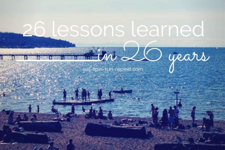 26 lessons in 26 years