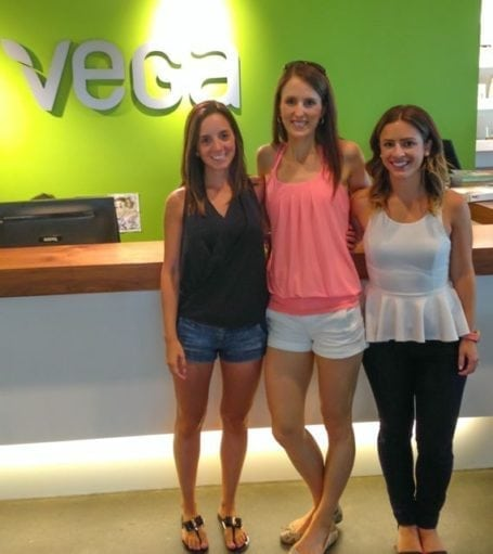 Christina Danielle and I at Vega