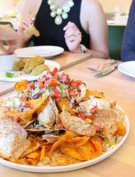 Heirloom Root vegetable nacho chips