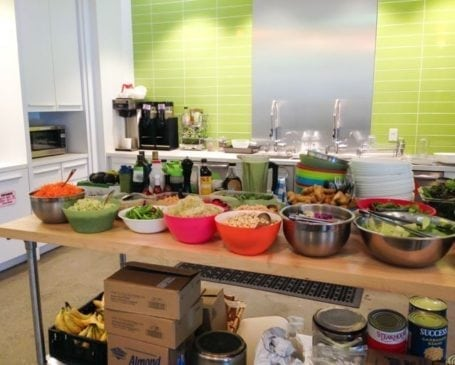 Vega HQ kitchen