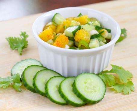 pineapple cucumber salsa - Eat Spin Run Repeat