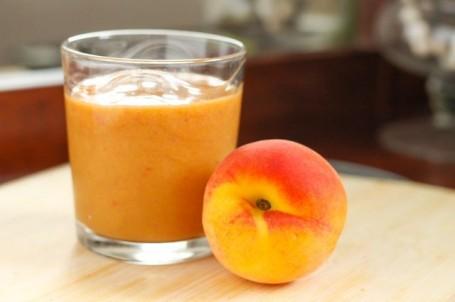 pureed peach