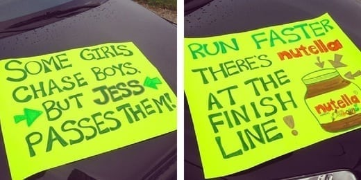 running signs - Eat Spin Run Repeat