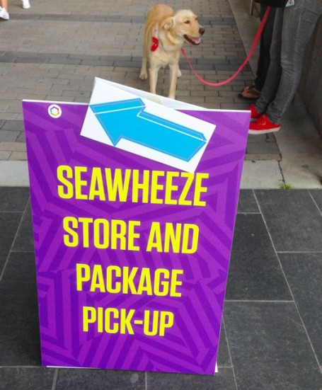 seawheeze store and package pickup