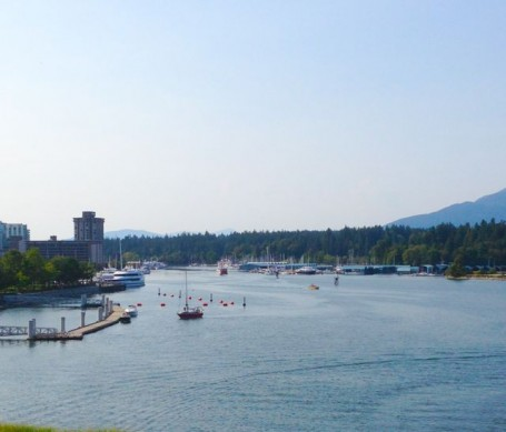 view from cactus club coal harbour