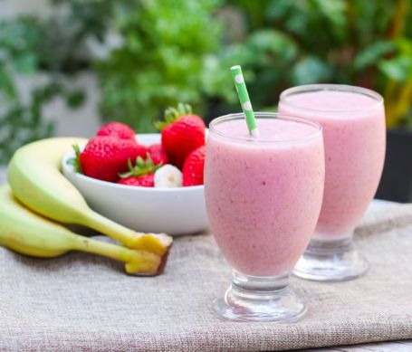 Strawberry Banana Bliss Smoothie