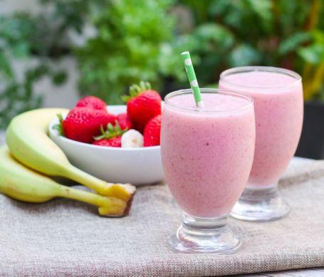 Strawberry Banana Bliss Smoothie