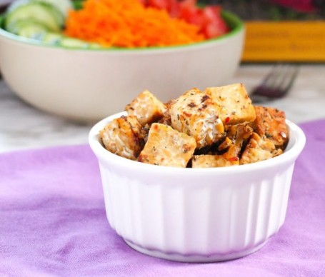 Spicy Tempeh from Simple Recipes for Joy by Sharon Gannon