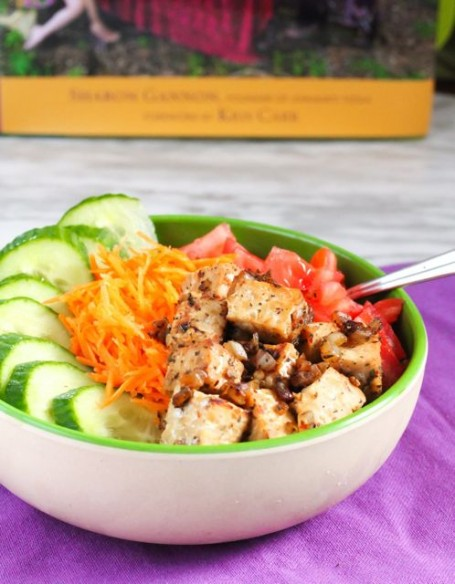 Tempeh Salad from Simple Recipes for Joy by Sharon Gannon