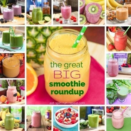 The Great Big Eat Spin Run Repeat Smoothie Roundup