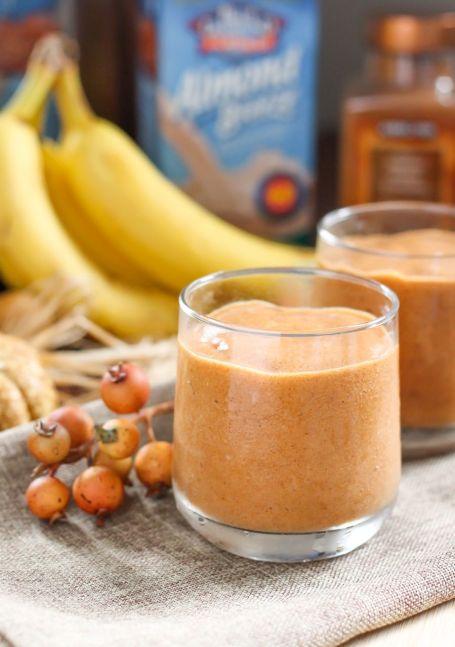 pumpkinana smoothie - eat spin run repeat