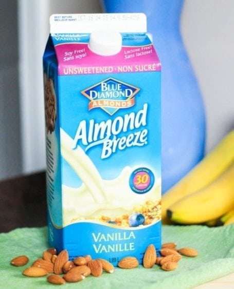 refrigerated almond breeze