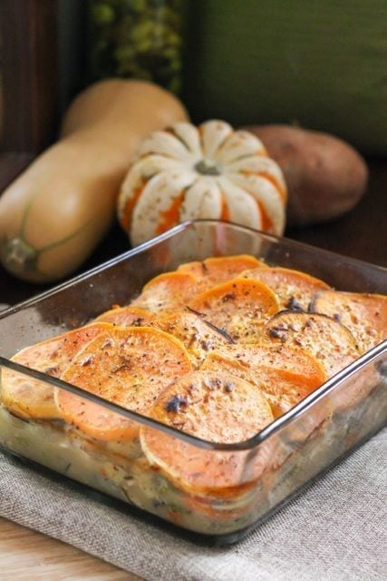 Chicken and Root Vegetable Casserole - Eat Spin Run Repeat