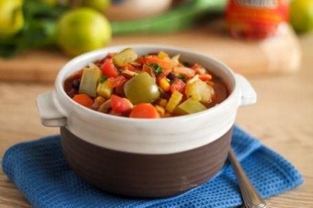 Smoky Chipotle 3-Bean Chili - Eat Spin Run Repeat
