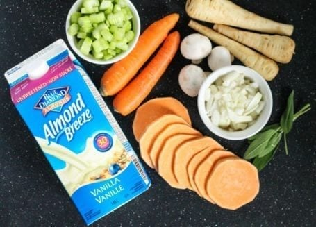 ingredients for Chicken and Root Vegetable Casserole - Eat Spin Run Repeat