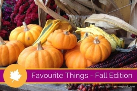 Favourite Things - Fall Edition - Eat Spin Run Repeat