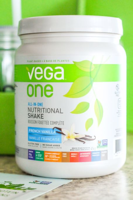 Newly-formulated Vega One - Eat Spin Run Repeat