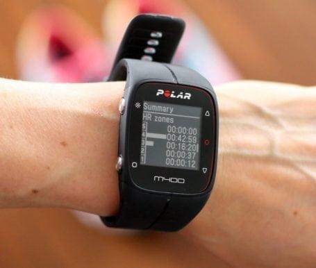 Polar M400 GPS Watch - Eat Spin Run Repeat