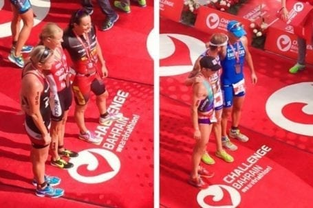 Top 3 males and females - Challenge Bahrain