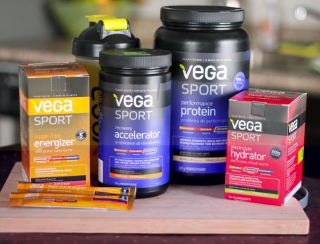 Vega Sport Products - Eat Spin Run Repeat