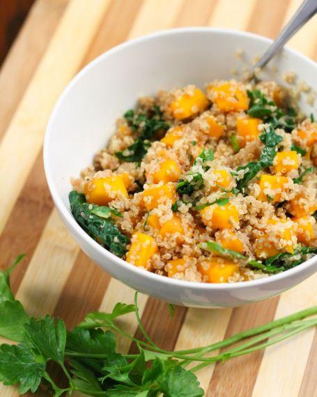 butternut quinoa pilaf