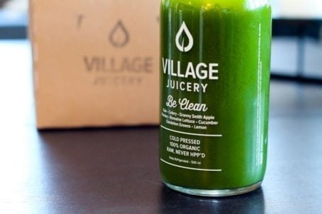 Be Clean Juice from The Village Juicery