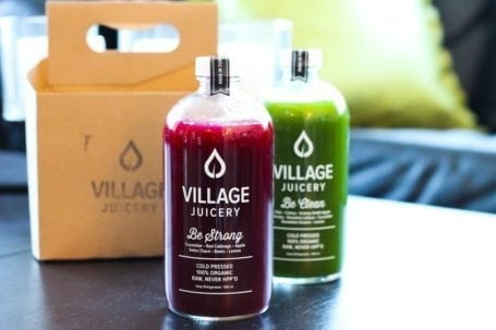 Be Strong and Be Clean Juices from The Village Juicery, Toronto