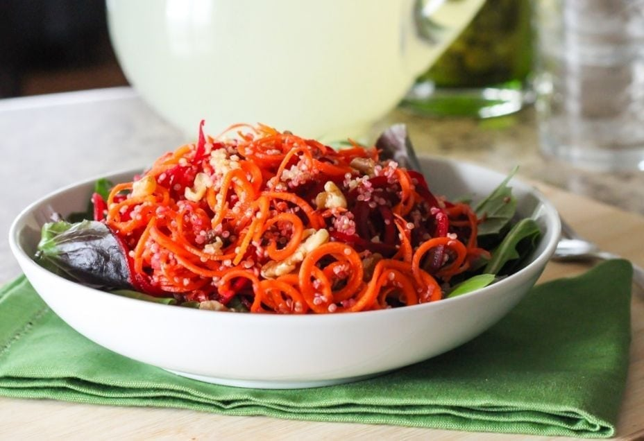Citrus Beet and Carrot Salad - Eat Spin Run Repeat