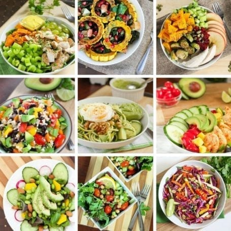 Eat Spin Run Repeat Salads