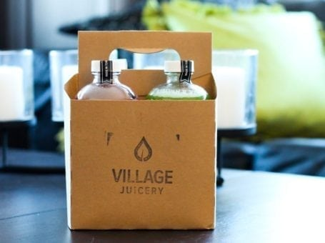 Juices from The Village Juicery, Toronto