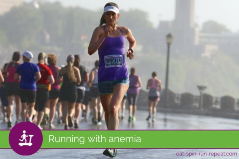 Running with Anemia - Eat Spin Run Repeat