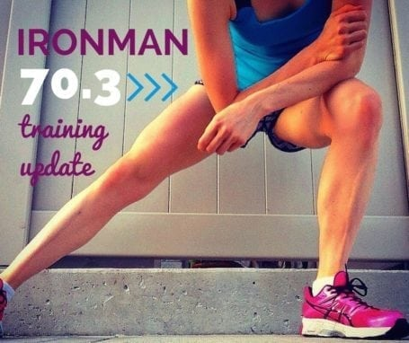 Ironman 70.3 training update #1