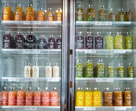 village juicery fridge