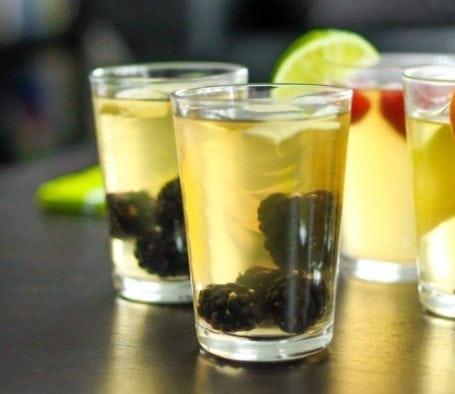 Blackberry Ginger Homemade Kombucha - Eat Spin Run Repeat