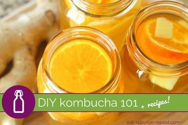 DIY Kombucha 101 - Eat Spin Run Repeat