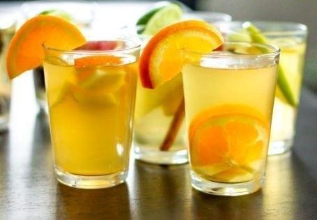 Ginger Orange Homemade Kombucha - Eat Spin Run Repeat