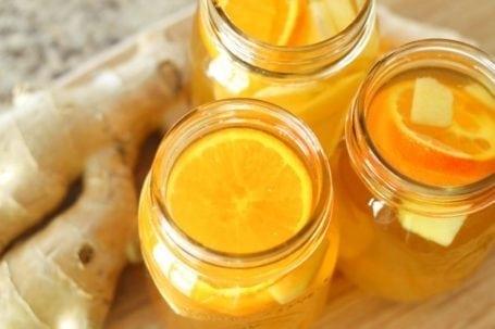 Homemade Ginger Orange Kombucha - Eat Spin Run Repeat