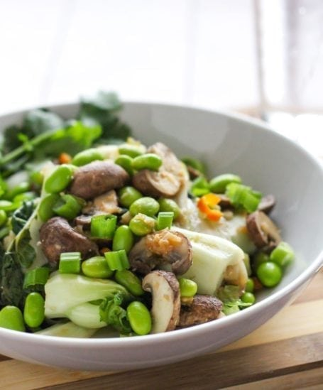 Sweet n Spicy Bok Choy Stir Fry - Eat Spin Run Repeat