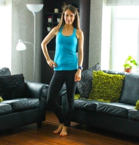 tights and Lululemon Cool Racerback tank