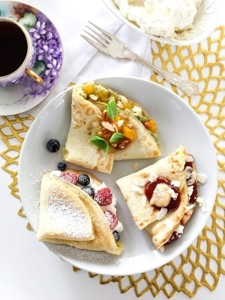 Sweet and Savoury Crepes