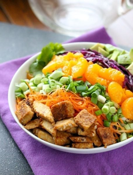 Sweet n Savoury Asian Bowl - Eat Spin Run Repeat