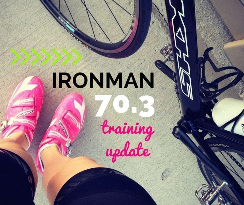 ironman 70.3 training update 2 - Eat Spin Run Repeat