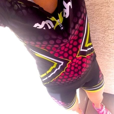 smashfest queen irock cycling kit