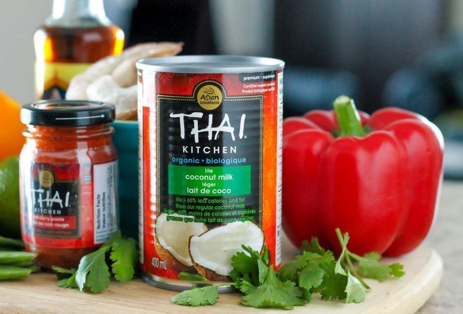 clean eating thai coconut shrimp curry