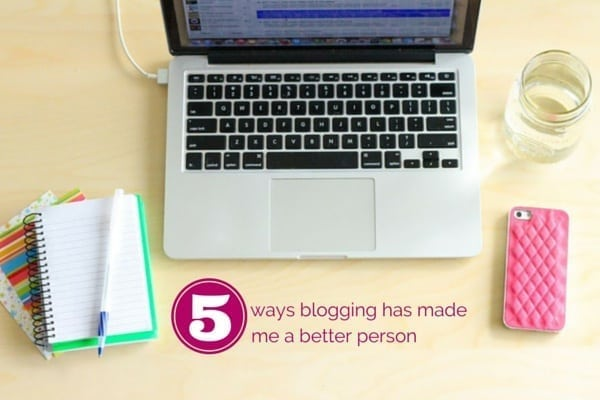 5 ways blogging has made me a better person - Eat Spin Run Repeat
