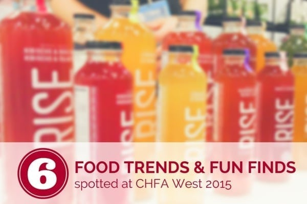 6 food trends and fun finds spotted at CHFA West - Eat Spin Run Repeat