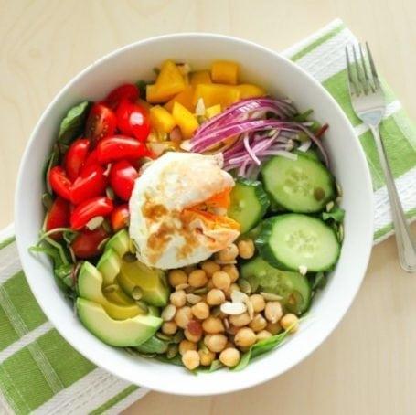 A weekend hughjass salad