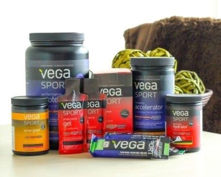 Eat Spin Run Repeat Blog Birthday - Vega Prize Pack
